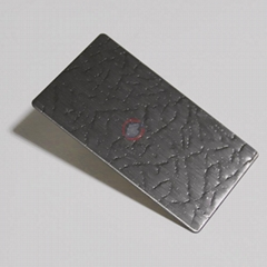高比皮革紋發紋壓花不鏽鋼  專業不鏽鋼花紋