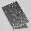 高比皮革紋發紋壓花不鏽鋼  專業不鏽鋼花紋 3