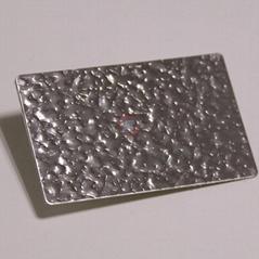高比進口不鏽鋼皮紋壓花板