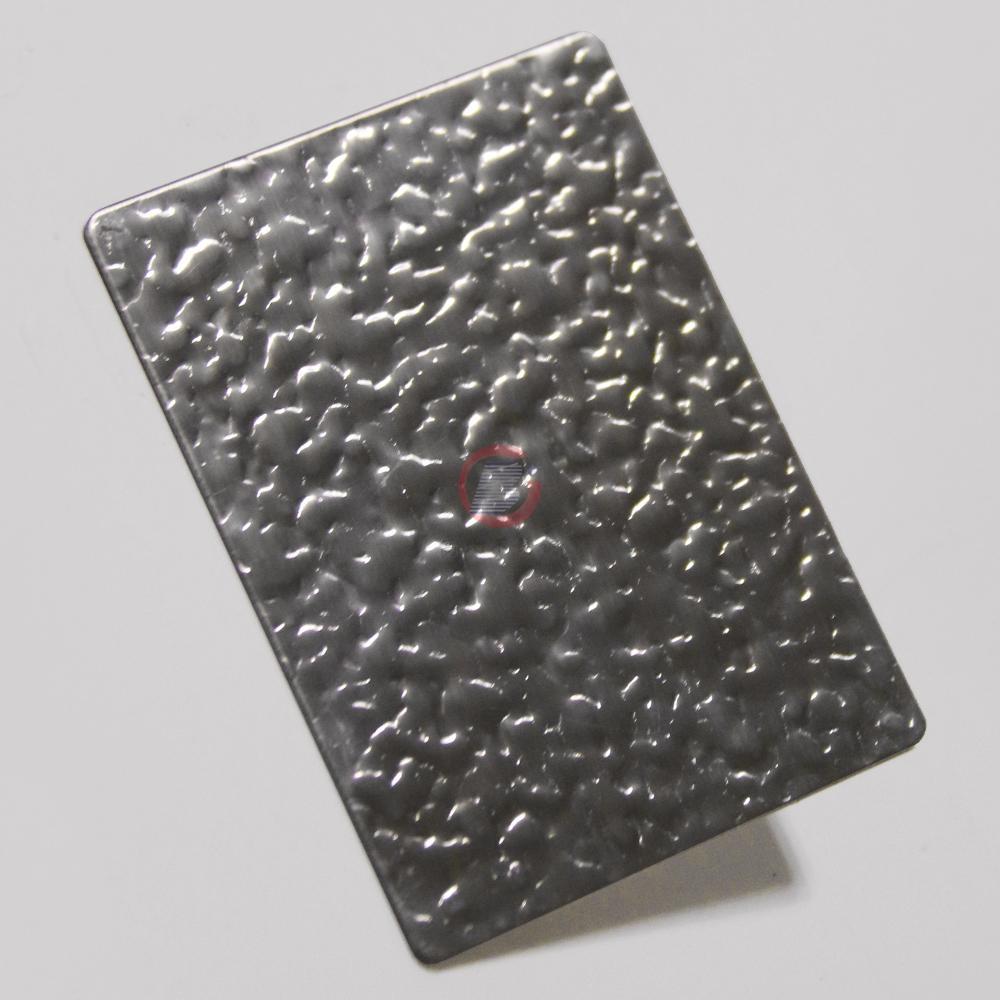 高比進口不鏽鋼皮紋壓花板 3