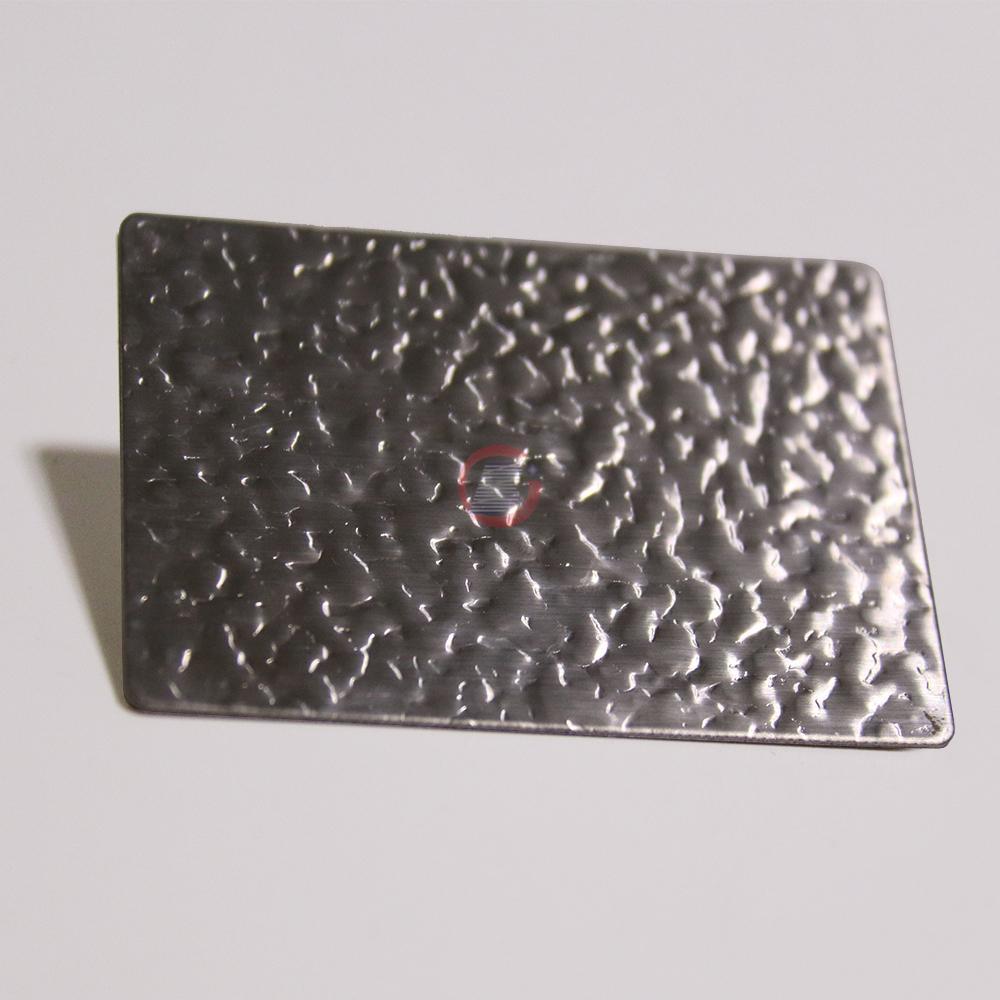 高比進口不鏽鋼皮紋壓花板 4