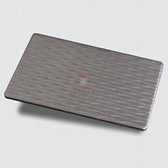 高比压花不锈钢中波浪 进口压花不锈钢总代销