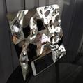 高比不鏽鋼沖壓花紋鏡面大水波紋