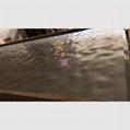 高比304L玫瑰金镜面大水波纹