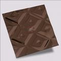 高比褐色不锈钢冲压方格花纹 2