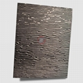 高比黑色不锈钢冲压木纹 4