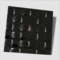 高比304不鏽鋼黑色鏡面編織壓花板 2