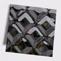 高比316不鏽鋼黑鈦鏡面菱形方格壓花 4