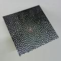 高比304黑钛镜面不锈钢冲压蜂窝纹 4