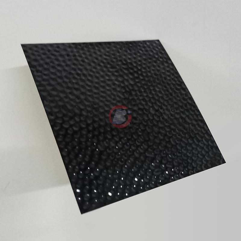 高比304黑钛镜面不锈钢冲压蜂窝纹 5