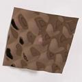 高比304不锈钢镜面玫瑰金水立方体花纹 3