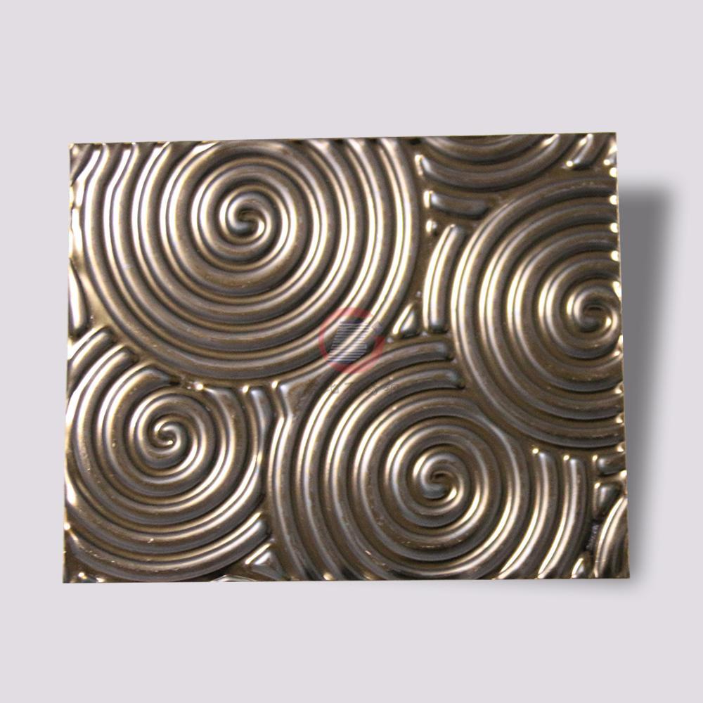 高比316不鏽鋼褐色沖壓旋螺紋 1