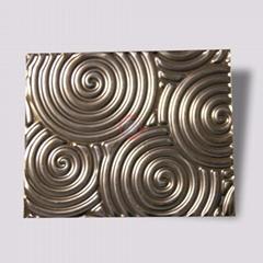 高比316不锈钢褐色冲压旋螺纹