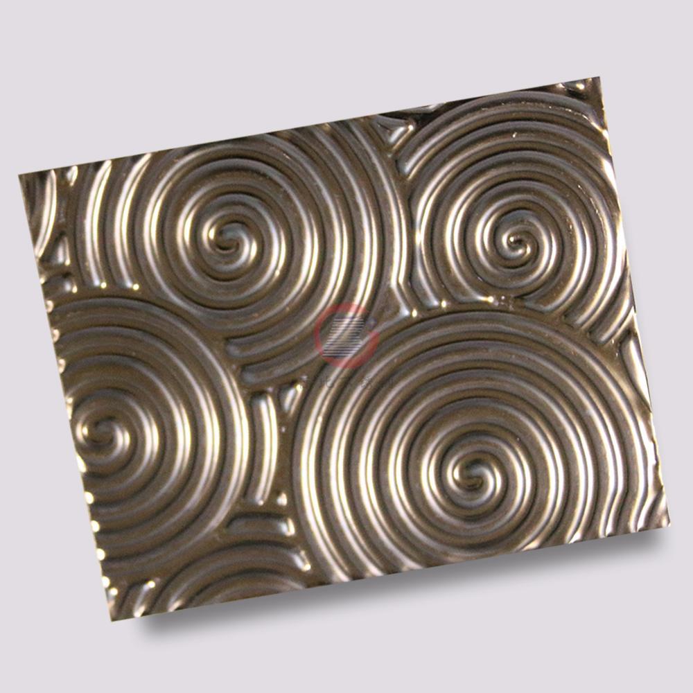 高比316不鏽鋼褐色沖壓旋螺紋 3