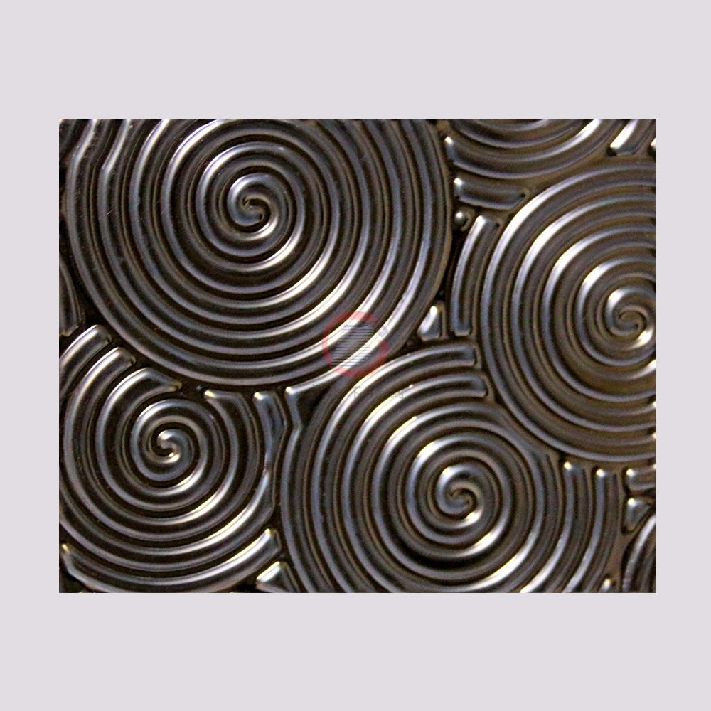 高比316不鏽鋼褐色沖壓旋螺紋 4