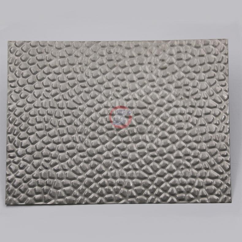 高比304不鏽鋼壓花鏡面蜂窩紋 酒店彩色不鏽鋼材料 3