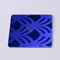 高比316寶石藍不鏽鋼噴砂蝕刻板 3