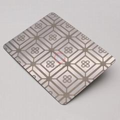 高比304不鏽鋼鏡面蝕刻銅錢福