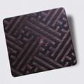 高比304不鏽鋼拉絲紅古銅發黑蝕刻板 3