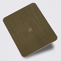 高比青古銅不鏽鋼蝕刻粗樹皮花紋 2