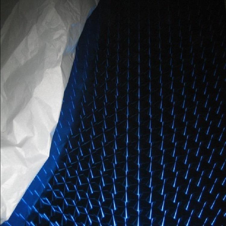 高比304宝石蓝镜面不锈钢镭射花纹 1