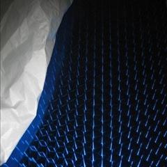 高比304宝石蓝镜面不锈钢镭射花纹