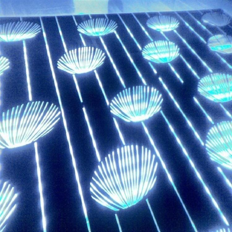高比304宝石蓝镜面不锈钢镭射花纹 2