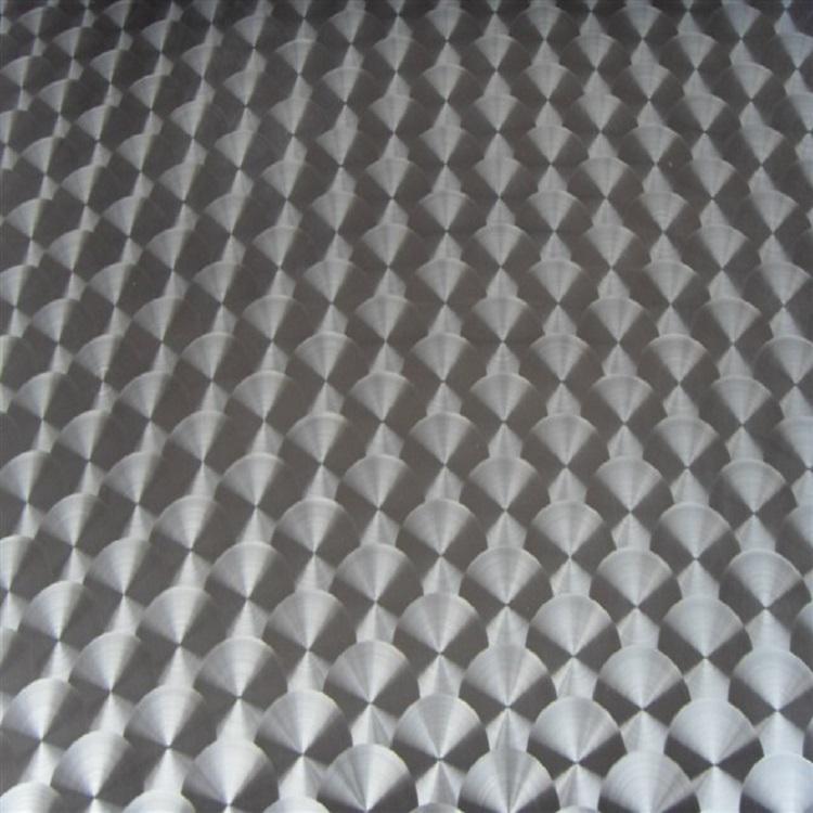 高比316镜面不锈钢镭射鱼鳞纹 2