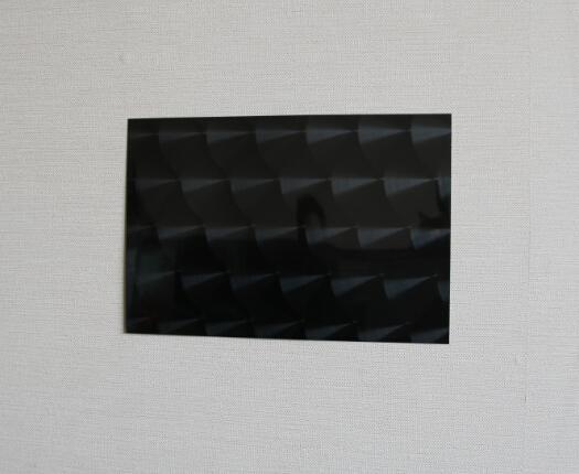 高比304鏡面黑鈦不鏽鋼鐳射魚鱗紋 1