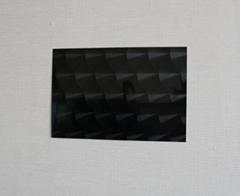 高比304镜面黑钛不锈钢镭射鱼鳞纹