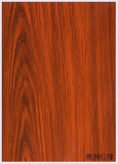 高比不锈钢板热转印澳洲红橡木纹