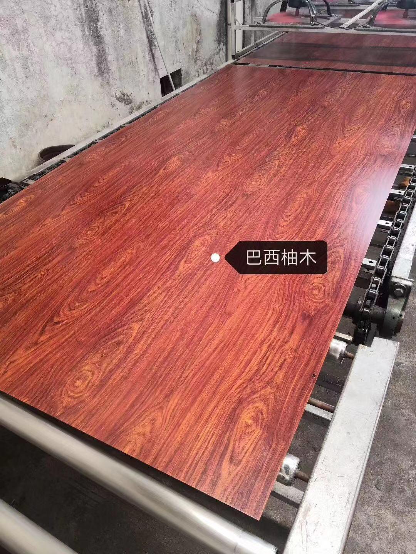 高比不锈钢板热转印澳洲红橡木纹 3