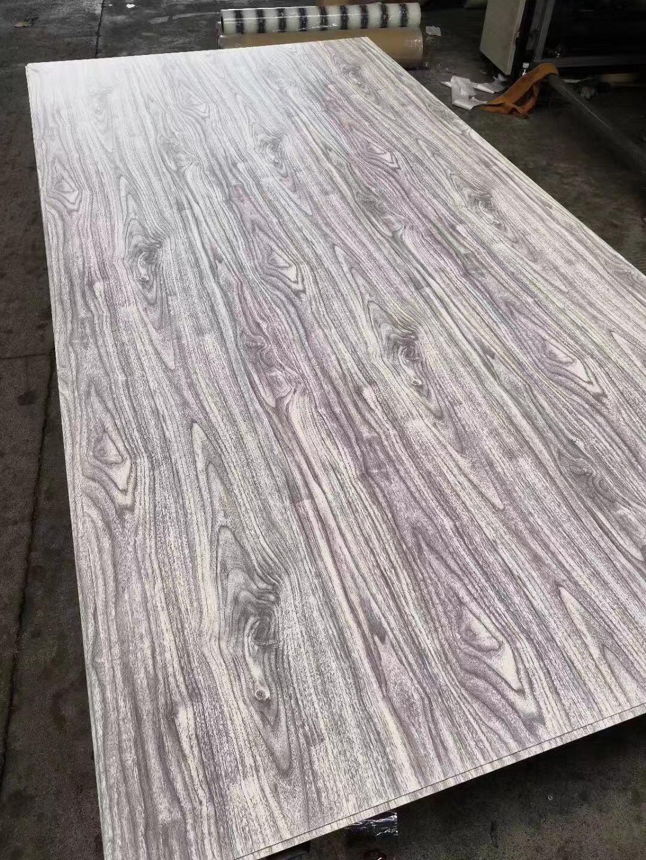 高比拉絲不鏽鋼熱轉印白木紋 1