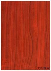 高比316热转印不锈钢板大红枫木
