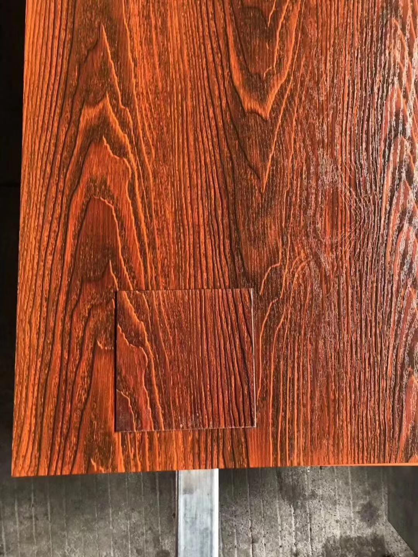 高比大紅樹紋不鏽鋼熱轉印板 1