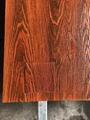 高比201拉絲不鏽鋼熱轉印仿古桃木 2