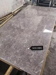 高比201拉絲不鏽鋼熱轉印灰色大理石
