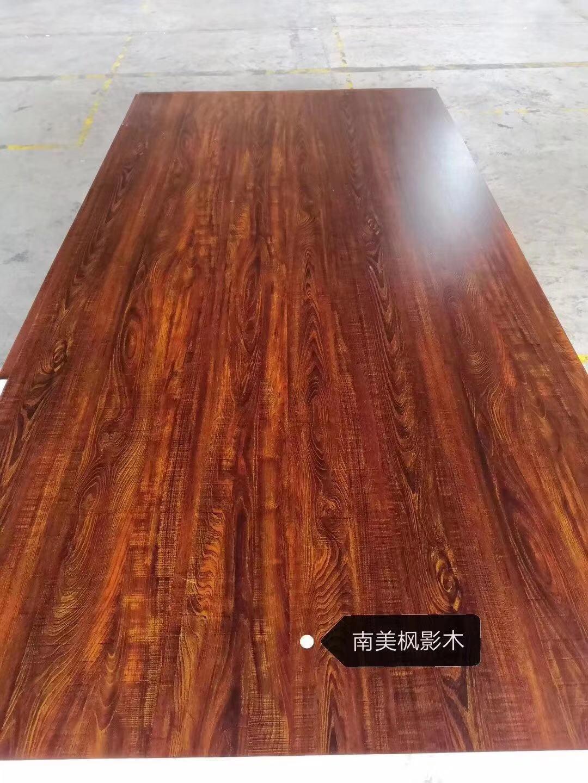 高比不鏽鋼板熱轉印南非金橡木 2
