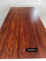 高比南美楓影木 不鏽鋼熱轉印總代銷
