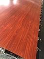 高比不锈钢亮光香檀木纹 优质不锈钢门板材料 4