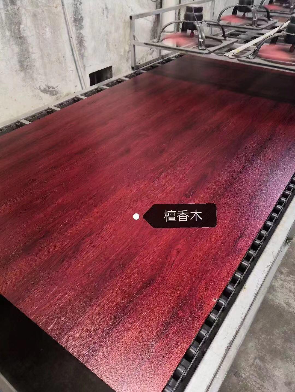 高比不鏽鋼亮光香檀木紋 優質不鏽鋼門板材料 1