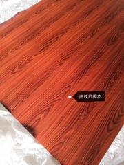 高比細紋紅樟木不鏽鋼 熱轉印不鏽鋼板總代銷