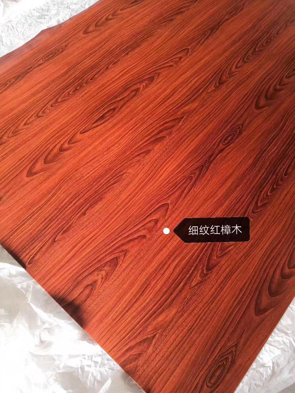 高比彩色不锈钢木纹板 樱桃木不锈钢门板 4