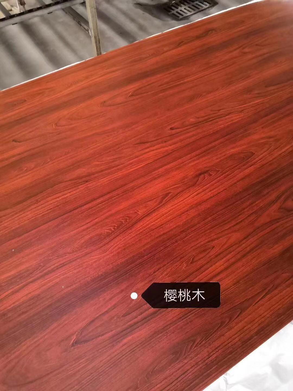 高比彩色不锈钢木纹板 樱桃木不锈钢门板 1