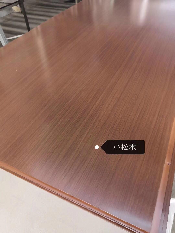 高比不鏽鋼電梯門板 熱轉印鋼板小松木 1
