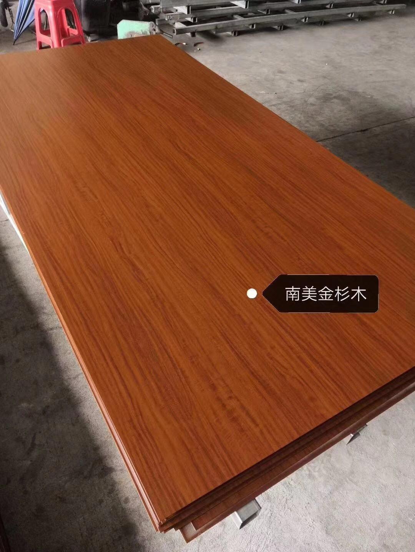 高比黃花梨不鏽鋼木紋 會所不鏽鋼裝飾材料 3