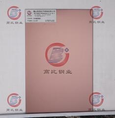 CS-3838 打砂鍍深褐色 高比不鏽鋼表面處理加工