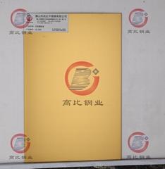 CS-3005 打砂镀钛金 高比电梯不锈钢装饰板