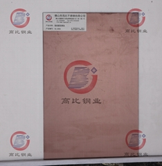 CS-3836 发纹镀深褐色 厂家直销高比彩色不锈钢板