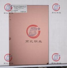 CS-3013高比304不鏽鋼亂紋鍍古銅+防指紋